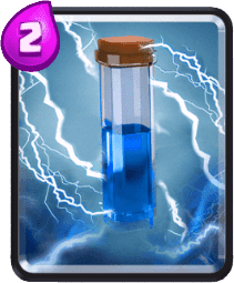 Carta Raio de Clash Royale - Cards Wiki