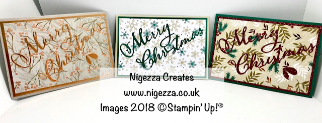 Simple Christmas Card Using Merry Christmas Die & Joyous Noel DSP Nigezza Creates