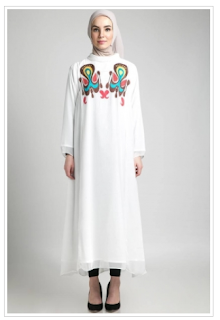 Trend Model Busana Muslim Motif Terbaru 2016