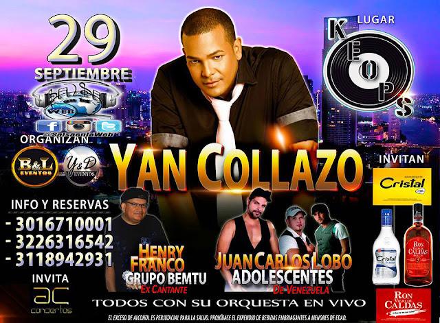 ► Yan Collazo, Henry Franco y Juan Carlos el Lobo en Concierto
