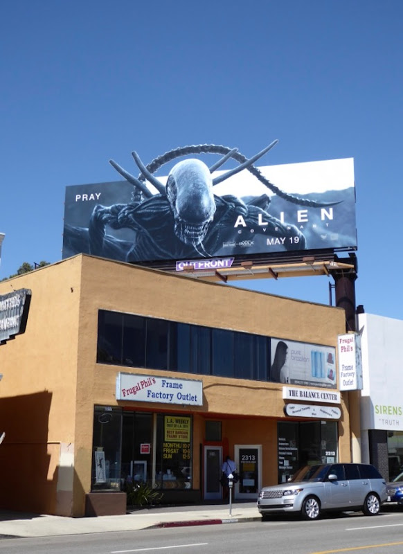 Alien Covenant special extension billboard