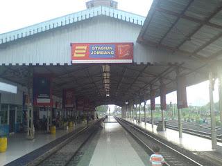 Penjemputan dari stasiun Jombang ke Kampung Inggris