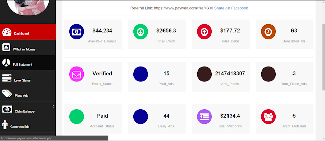 How to earn 300$ per day from Pay Wao? -Secret guide