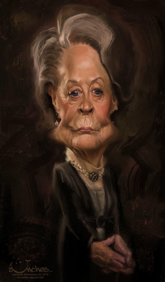 Maggie Smith 2 por Alexander Novoseltsev