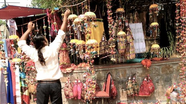 Dilli Haat - Delhin sydämessä, In the heart of Delhi