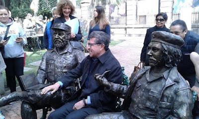 Fidel Castro Guevara Estatua Mexico