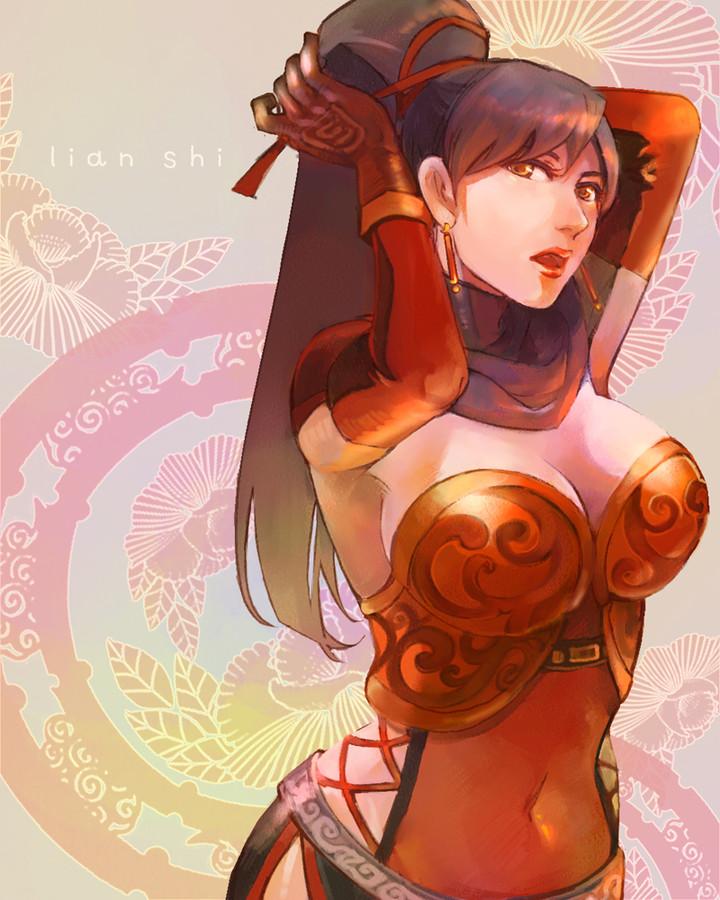 Warriors Orochi 3 Lian Shi: Tachibana World: Sejarah : Lady Bu Lian Shi