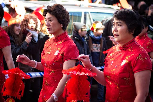 Desfile del Año Nuevo Chino 2018. Año del Perro