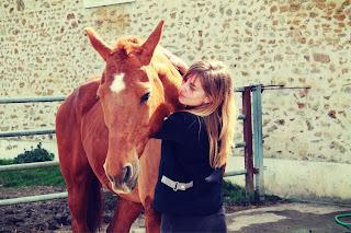 Cavalier sans équitation. Equipiéton. Ne pas monter à cheval.
