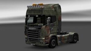 Scania Camouflage Skin by José Rocha