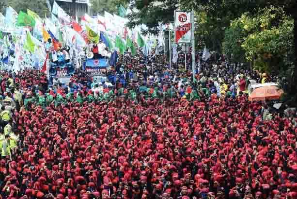 KSPI: Tiga Bulan Terakhir Hampir 50 Ribu Buruh di Indonesia Di-PHK