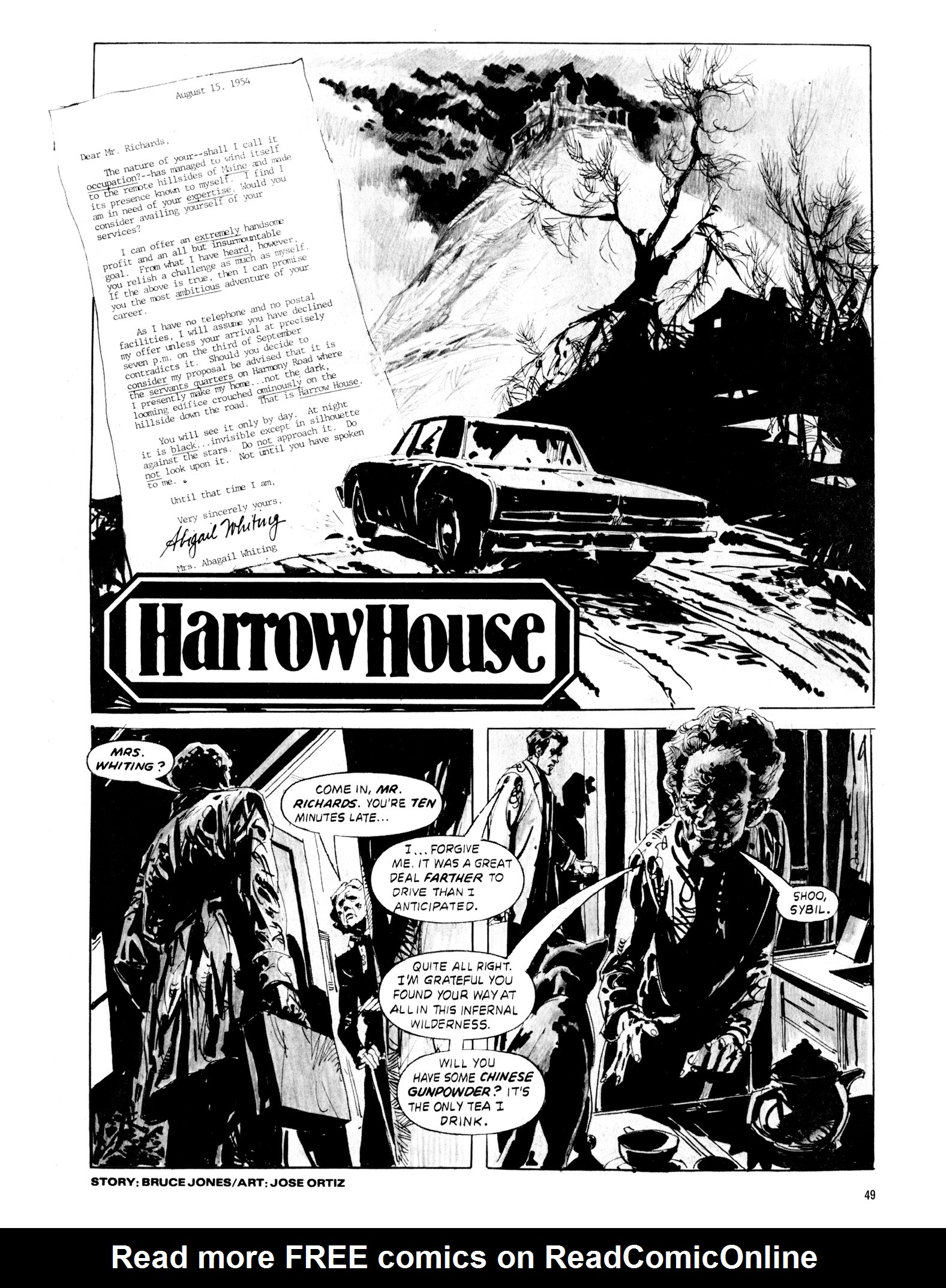 Read online Eerie Archives comic -  Issue # TPB 20 - 49