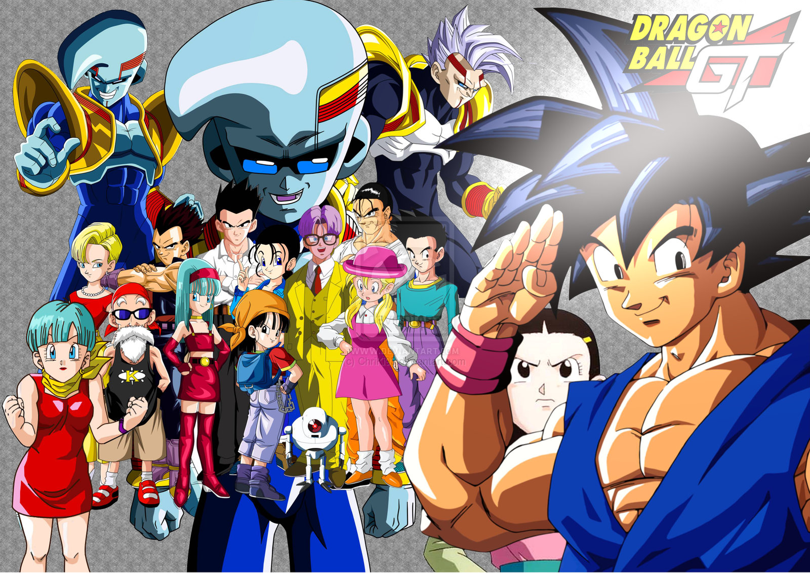 Dragon Ball Anime Español Latinoysub Saga De Baby Dragon Ball Gt En Latino