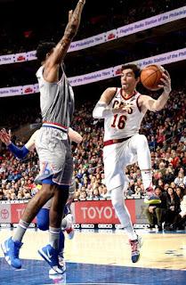 Cedi Osman - Cleveland Cavaliers - Philadelphia 76ers Nov24-2018