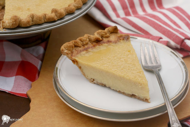 Buttermilk Pie | #FridayPieDay