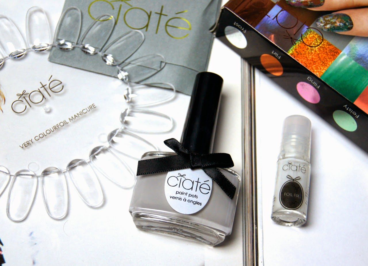 ciate very colourfoil manicure set wonderland review nail design