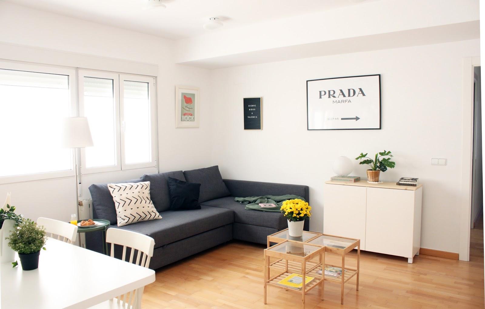 De lunares y naranjas nuestro sal n ikea - Ikea decoracion salon ...