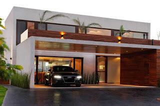 contoh rumah minimalis tampak depan 1