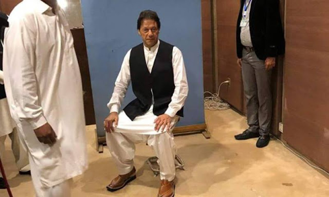 PM-in-Waiting Borrows Waistcoat From NA Photographer