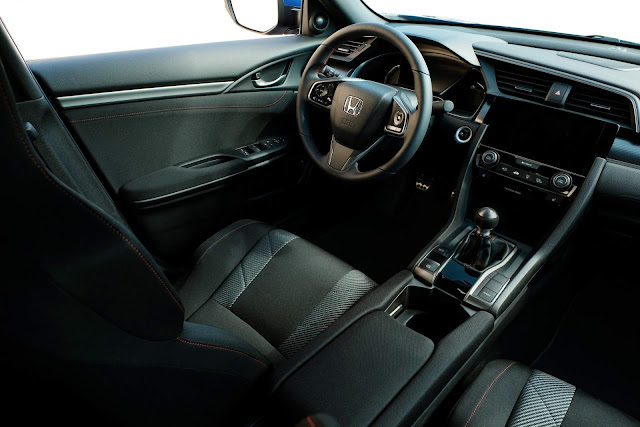 2017 Honda Civic Si - interior
