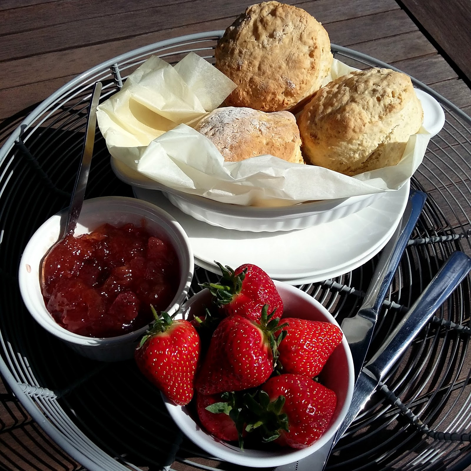 Lancashire Food: Lemonade Scones