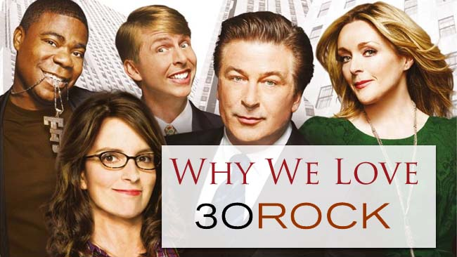 Know Your Show: Tina Fey's 30 Rock #AtoZChallenge