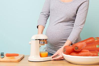 فوائد عصير الجزر للحامل