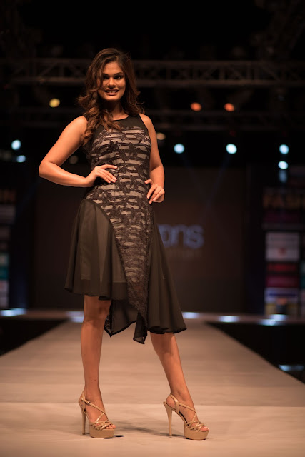 Miss India Universe Noyonita Lodh  at The Great Indian Fashion Week, TGIP Noida