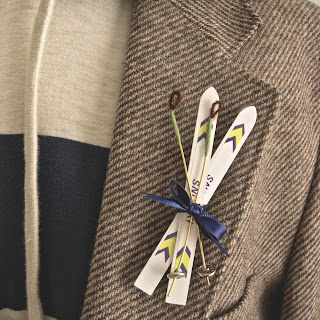 wedding ideas - boutonniere ideas - ski bum- wedding services in Philadelphia PA. - inspiration by K'Mich - wedding ideas blog