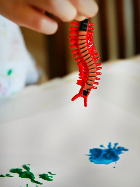 Bug Painting for Kids