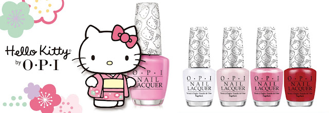OPI Hello Kitty Limited Edition Cherry Blossom Collection