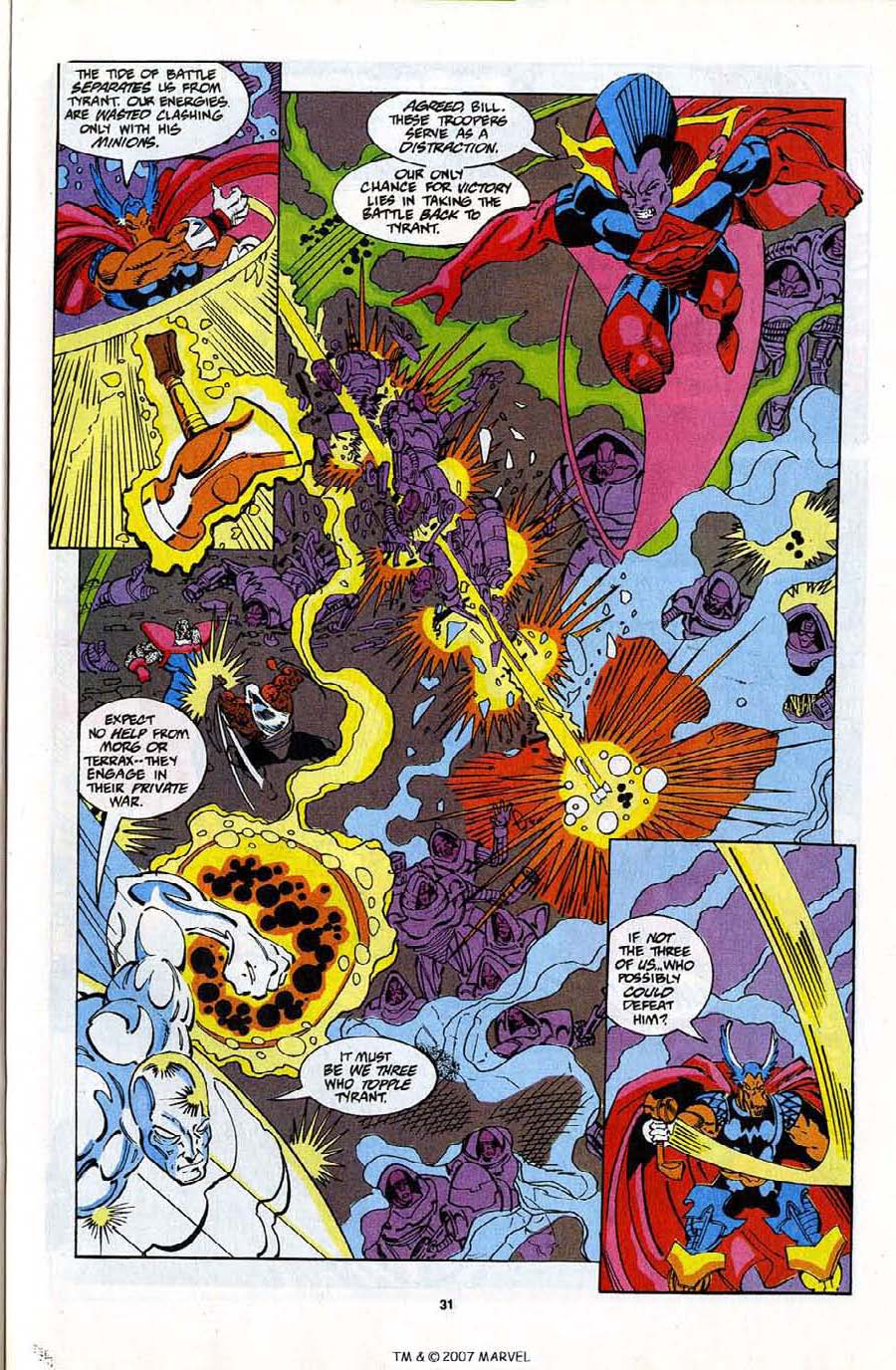 Read online Silver Surfer (1987) comic -  Issue #82 - 33