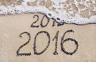 DP BBM Unik Selamat Tahun Baru 2016 pantai