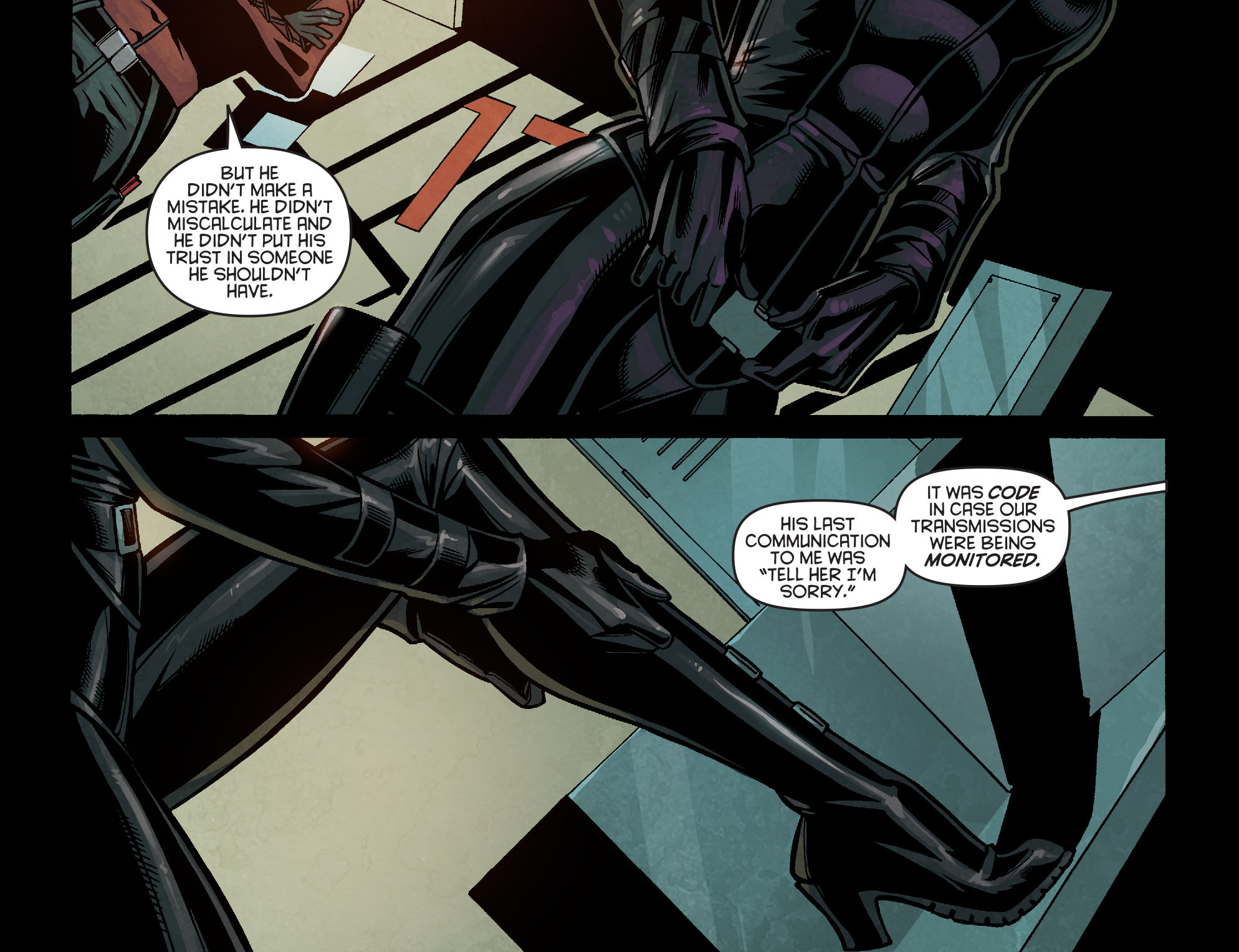 Read online Arrow: Season 2.5 [I] comic -  Issue #14 - 18
