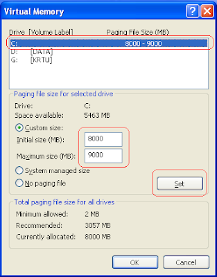 Virtual Memory - Cara Upgrade RAM PC Gratis Tanpa Bayar