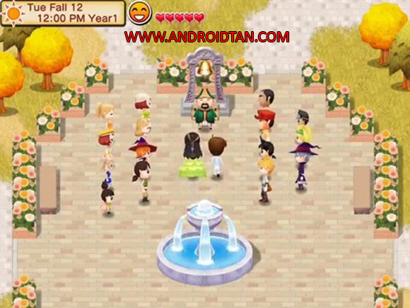 Game Info Harvest Moon Seeds Of Memories Apk for Android
