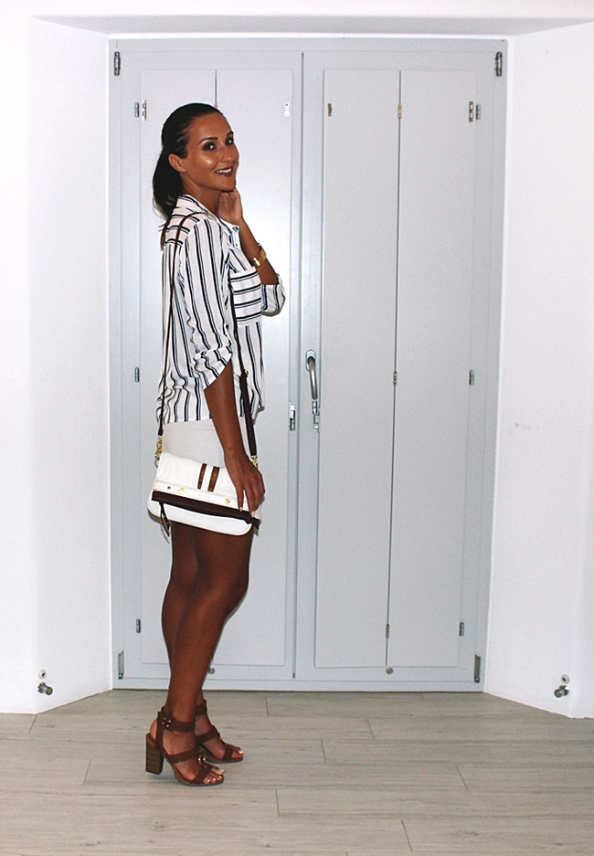 Best holiday and vacation looks with white and blue stripes