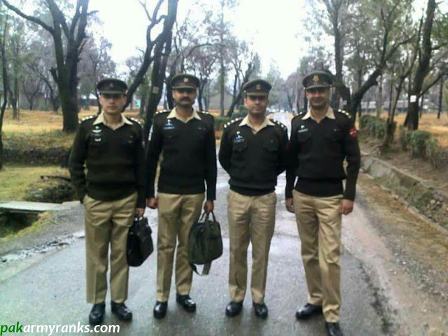 captains in the army of Pakistan