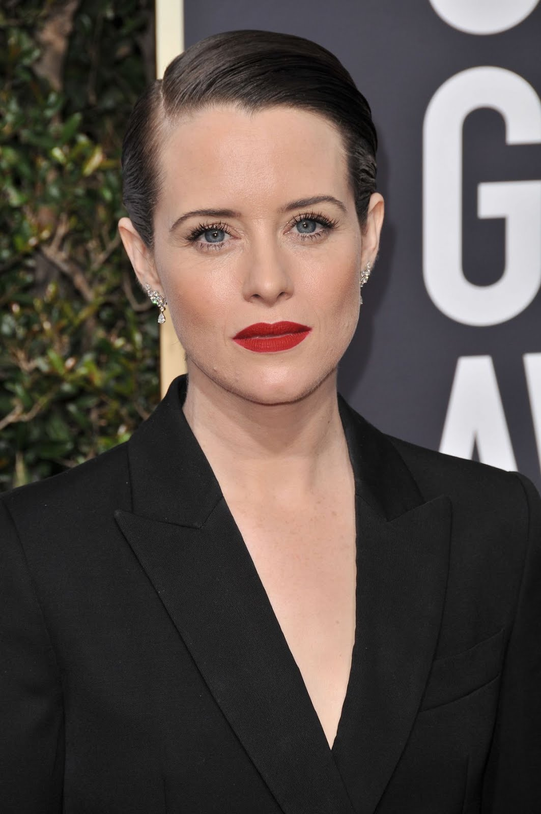 HD Photos of Claire Foy At 75Th Annual Golden Globe Awards In Beverly Hills