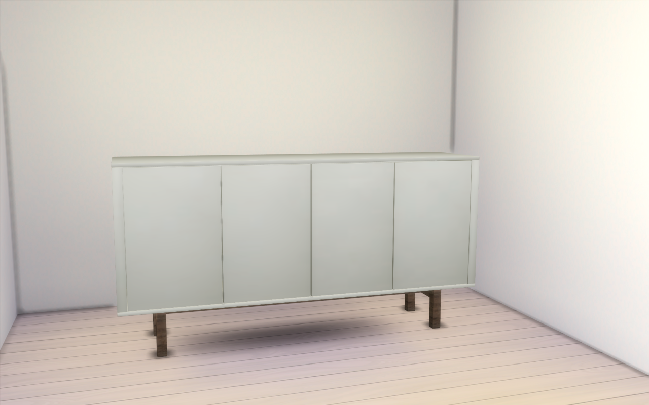 My sims 4 blog ikea stockholm sideboard by lifeends for Sideboard ikea