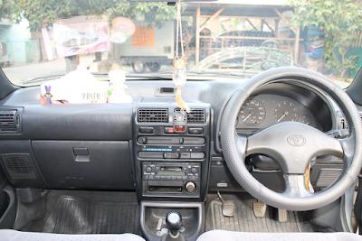 Interior Toyota Starlet Kapsul SE-G