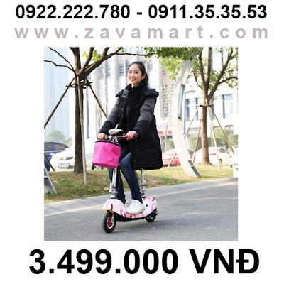Làm sao để bảo quản xe điện mini E-scooter mùa mưa bão?