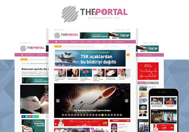 The Portal WordPress Teması