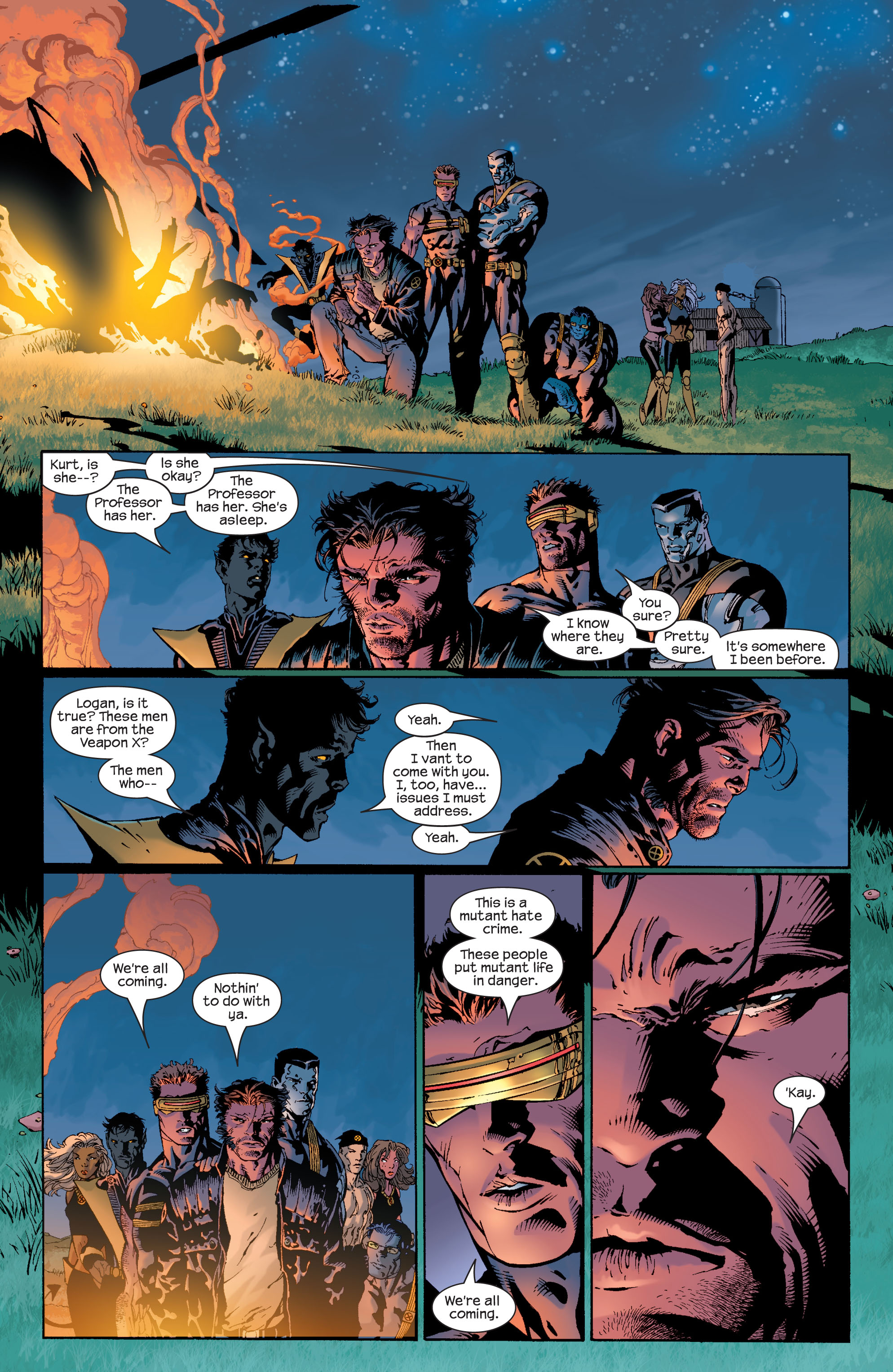 Read online Ultimate X-Men comic -  Issue #39 - 8