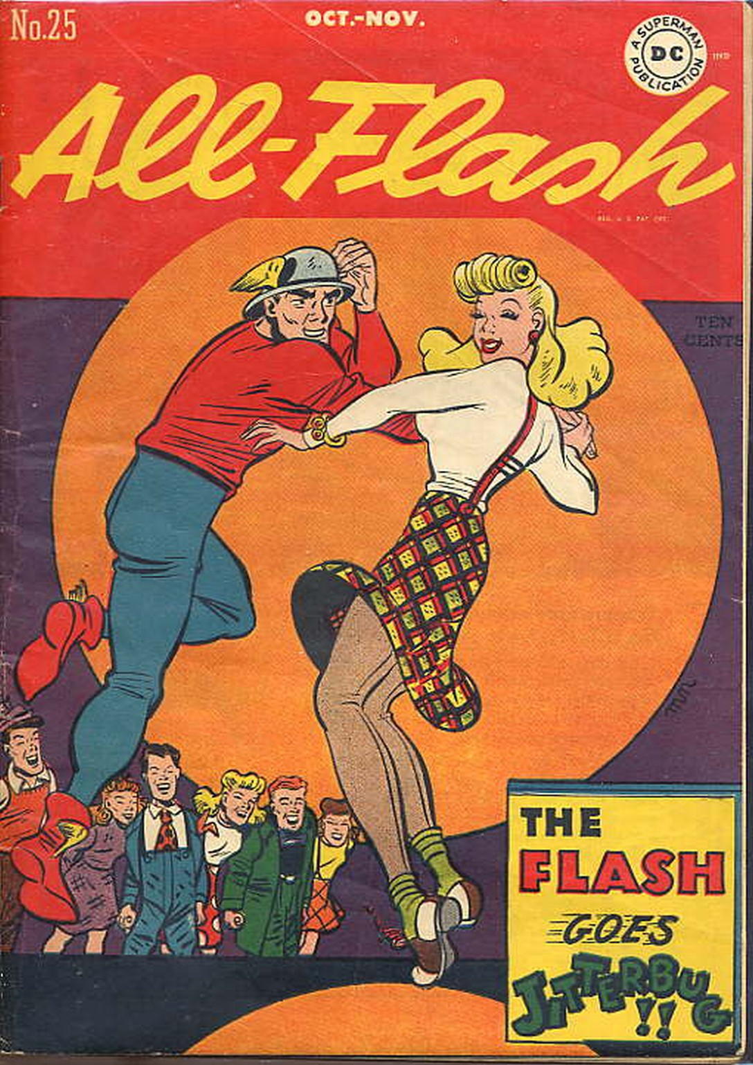 Read online All-Flash comic -  Issue #25 - 1