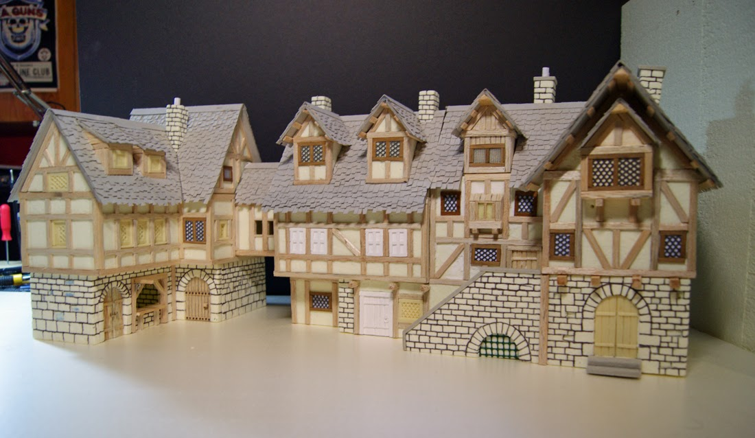 Medieval town, Dioramas and Medieval on Pinterest