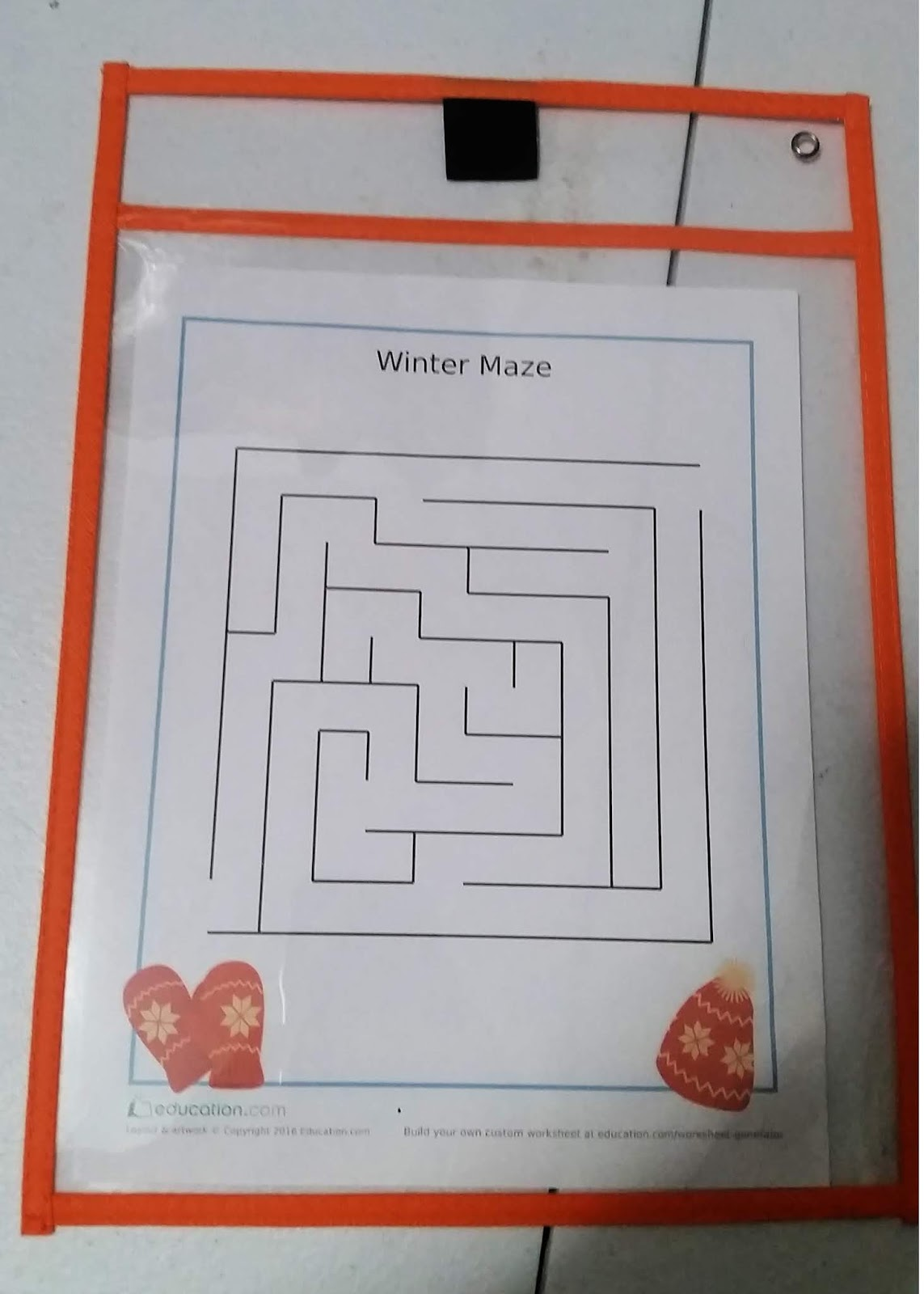 The Cozy Red Cottage Free Winter Maze Printable And 3