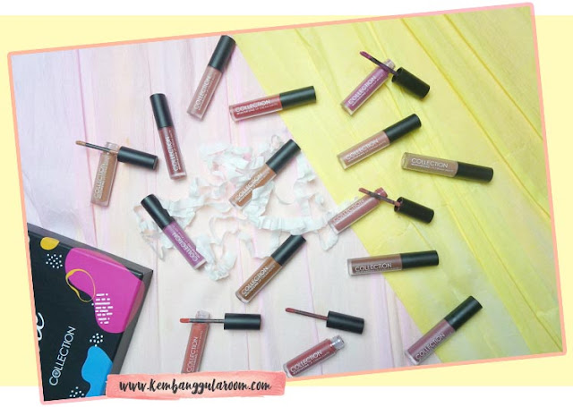 collection cosmetics lip cream matte