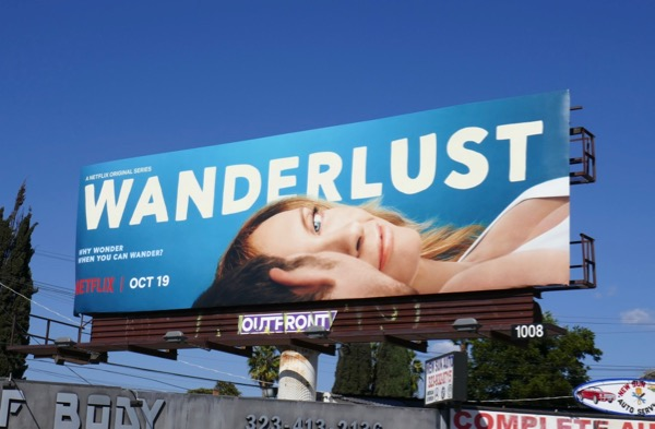 Wanderlust series premiere billboard