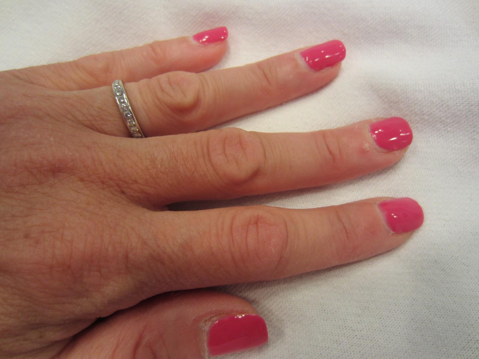 Gel Manicure after 9 days